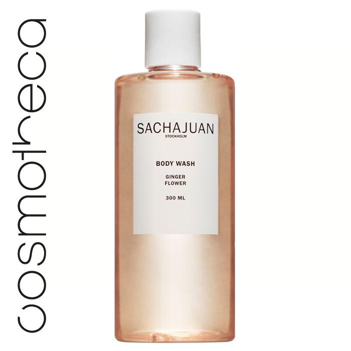 Sachajuan Гель для душа Цветок имбиря 300 млFS-00897Гель для душа с компонентами технологии «Растительный шелк» нежно очищает, увлажняет, смягчает кожу и насыщает ее восхитительным ароматом пряного кориандра и жасмина.