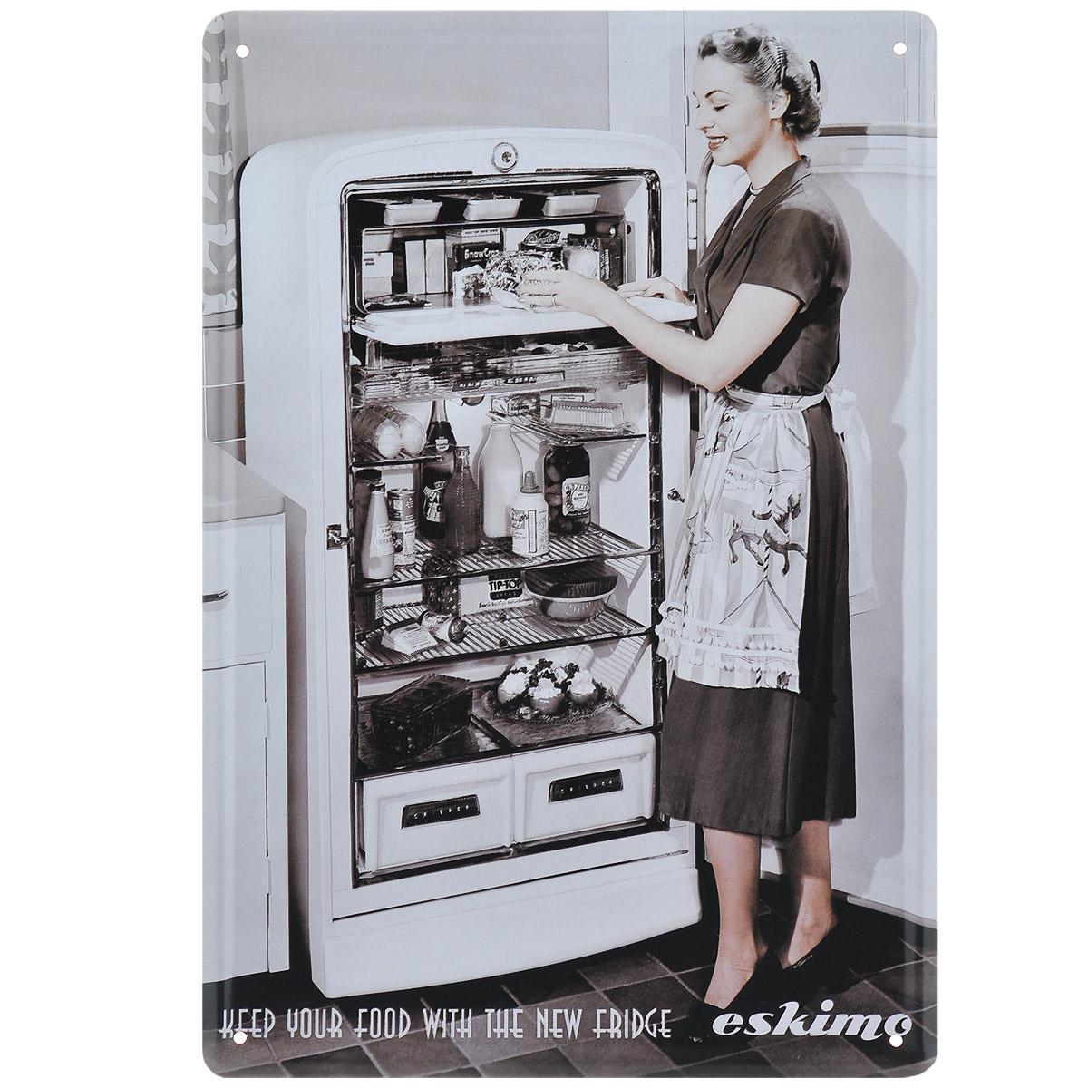 Постер Феникс-презент Холодильник, 20 х 30 см37433Постер Феникс-презент Холодильник выполнен из черного металла. На постере изображена девушка у открытого холодильника. Постер заинтересует всех любителей оригинальных вещиц и доставит массу положительных эмоций своему обладателю. Картина для интерьера (постер) - современное и актуальное направление в дизайне любых помещений. Постер может использоваться для оформления любых интерьеров: - дом, квартира (гостиная, спальня, кухня); - офис (комната переговоров, холл, кабинет); - бар, кафе, ресторан или гостиница. Из мелочей складывается стиль интерьера. Постер Феникс-презент Холодильник одна из тех деталей, которые придают интерьеру обжитой вид и создают ощущение уюта.