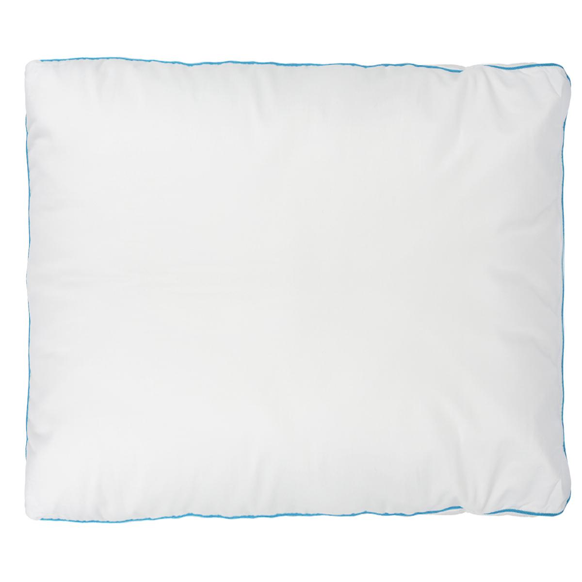 Подушка Dargez Меркурий, наполнитель: полое силиконизированное волокно Эстрелль, цвет: белый, 68 х 68 см03(12)251Подушка Dargez Меркурий подарит комфорт и уют во время сна. Чехол выполнен из инновационного полотна Outlast®. Наполнитель представляет собой шарики из полого силиконизированного волокна Эстрелль. Основные свойства волокна: - хорошая терморегуляция, - свободная циркуляция воздуха, - быстрое восстановление формы, - благоприятный климат во время сна, - мягкость и упругость, - удобство в эксплуатации и легкость стирки. Технология Outlast® обеспечит прекрасное самочувствие: постельные принадлежности принимают на себя тепло вашего тела, если тело слишком нагревается, и отдают тепло обратно, когда вам это необходимо. Постельные принадлежности Outlast® образуют буфер для микроклимата на вашей коже и таким образом защищают тело от перегрева и потообразования. Кроме того, компенсируется различное восприятие тепла и холода партнерами. Благодаря этому вы лучше засыпаете и просыпаетесь отдохнувшим. Рекомендации по уходу:...