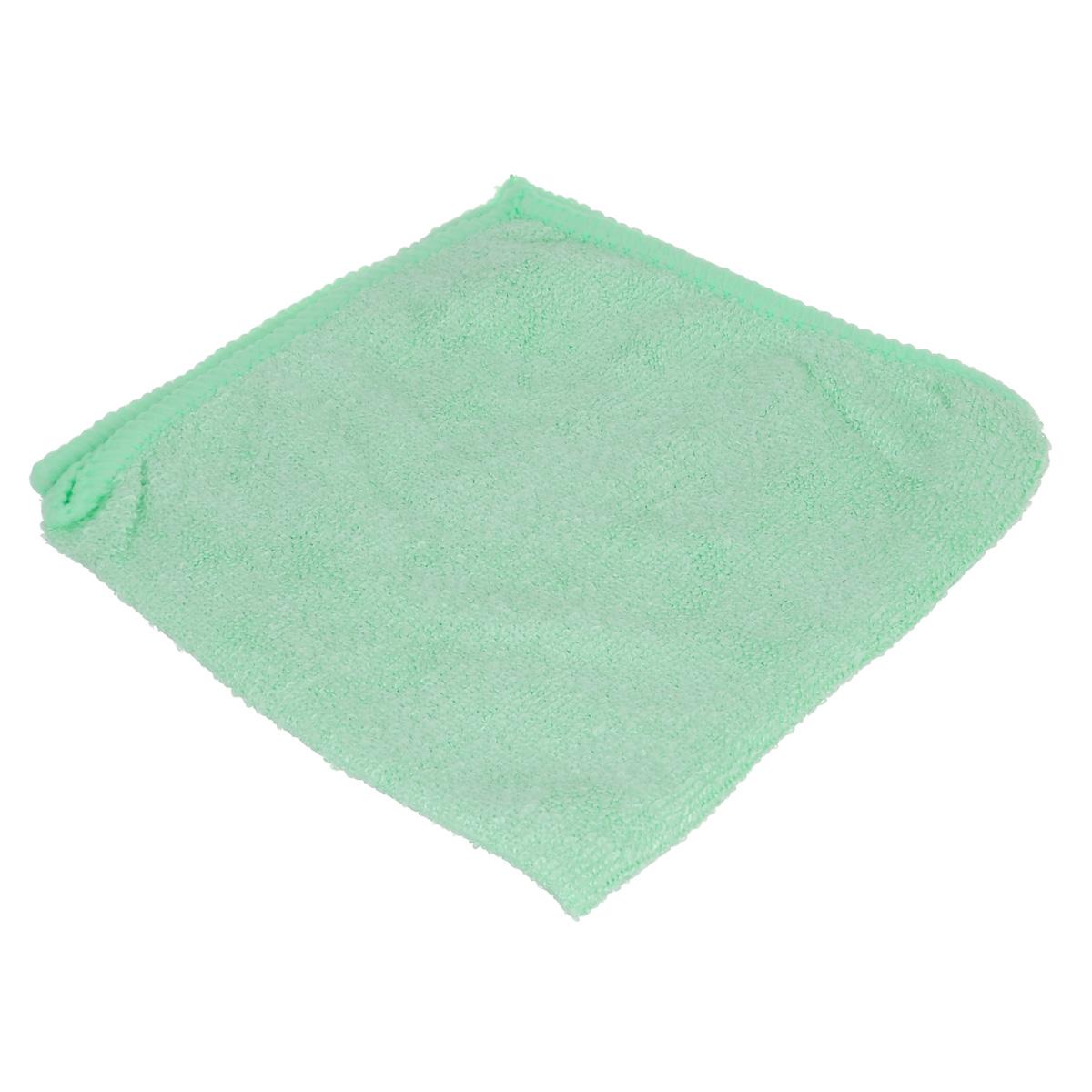 Салфетка для уборки Home Queen, цвет: салатовый, 30 х 30 см50304Салфетка Home Queen, изготовленная из полиамида и полиэфира, предназначена для очищения загрязнений на любых поверхностях. Изделие обладает высокой износоустойчивостью и рассчитано на многократное использование, легко моется в теплой воде с мягкими чистящими средствами. Супервпитывающая салфетка не оставляет разводов и ворсинок, удаляет большинство жирных и маслянистых загрязнений без использования химических средств. Размер салфетки: 30 см х 30 см. Материал: 30% полиамид, 70% полиэфир.