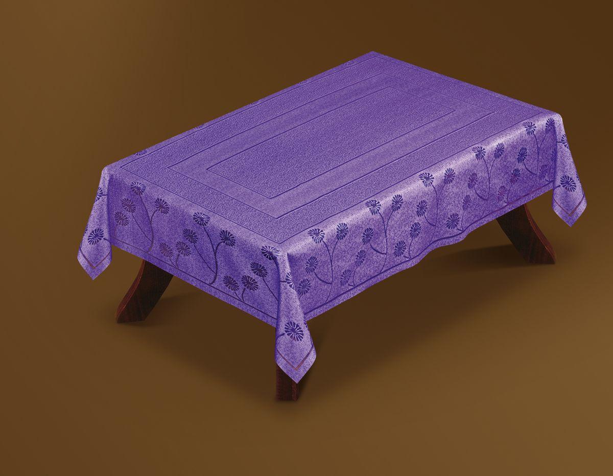 Скатерть Haft Gold Line, прямоугольная, цвет: фиолетовый, 100 x 160 см. 221570/100221570/100Великолепная прямоугольная скатерть Haft Gold Line, выполненная из полиэстера, органично впишется в интерьер любого помещения, а оригинальный дизайн удовлетворит даже самый изысканный вкус. Скатерть изготовлена из сетчатого материала с ажурным цветочным рисунком по краям. Скатерть Haft Gold Line создаст праздничное настроение и станет прекрасным дополнением интерьера гостиной, кухни или столовой.