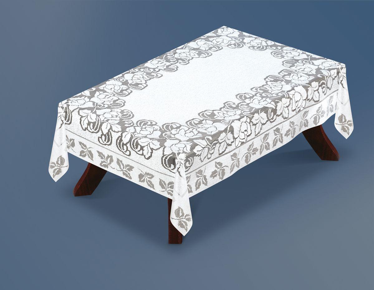 Скатерть Haft Silver Line, прямоугольная, цвет: белый, 120 x 160 см. 221660/120221660/120Великолепная прямоугольная скатерть Haft Silver Line, выполненная из полиэстера, органично впишется в интерьер любого помещения, а оригинальный дизайн удовлетворит даже самый изысканный вкус. Скатерть изготовлена из сетчатого материала с ажурным цветочным рисунком. Скатерть Haft Silver Line создаст праздничное настроение и станет прекрасным дополнением интерьера гостиной, кухни или столовой.