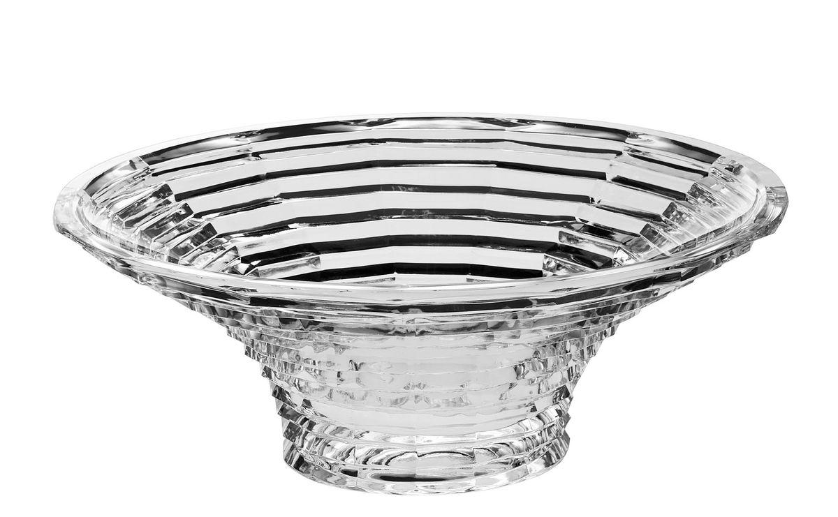Салатник Crystal Bohemia, диаметр 33 см990/61510/0/47600/330-109Салатник Crystal Bohemia изготовлен из хрусталя и выполнен в форме большой чаши, декорирован рельефом в полоску. Данный салатник сочетает в себе изысканный дизайн с максимальной функциональностью. Он прекрасно впишется в интерьер вашей кухни и станет достойным дополнением к кухонному инвентарю. Такой салатник не только украсит ваш кухонный стол и подчеркнет прекрасный вкус хозяйки, но и станет отличным подарком. Диаметр: 33 см. Высота: 11 см. Диаметр дна: 12 см.