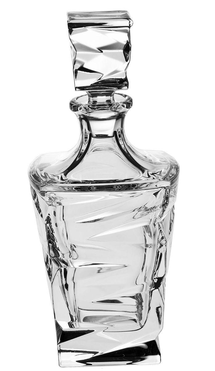 Штоф Crystal Bohemia, 750 мл290/46704/1/59418/075-109Штоф Crystal Bohemia выполнен из прочного высококачественного хрусталя и декорирован рельефом. Он излучает приятный блеск и издает мелодичный звон. Штоф предназначен для хранения и красивой подачи виски и бренди. Он сочетает в себе изысканный дизайн с максимальной функциональностью и прекрасно впишется в интерьер вашей кухни. Штоф не только украсит ваш кухонный стол и подчеркнет прекрасный вкус хозяйки, но и станет отличным подарком. Высота (без пробки): 21 см. Размер основания: 8 см х 8 см.