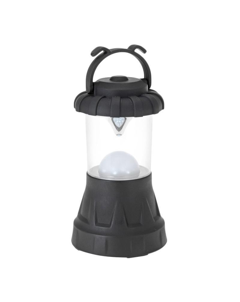 Кемпинговый фонарь FIT, 11 LED67754Фонарь кемпинговый пластиковый. 11 светодиодов. Благодаря рассеивателю и зеркальному отражателю равномерно освещает окружающее пространство Характеристики: Материал: пластик. Размер фонаря: 16 см х 8,5 см х 8,5 см. Количество светодиодов: 11 шт. Питание: 3 батарейки тип АА (не входят в комплект) Размер упаковки: 16 см х 9 см х 9 см.