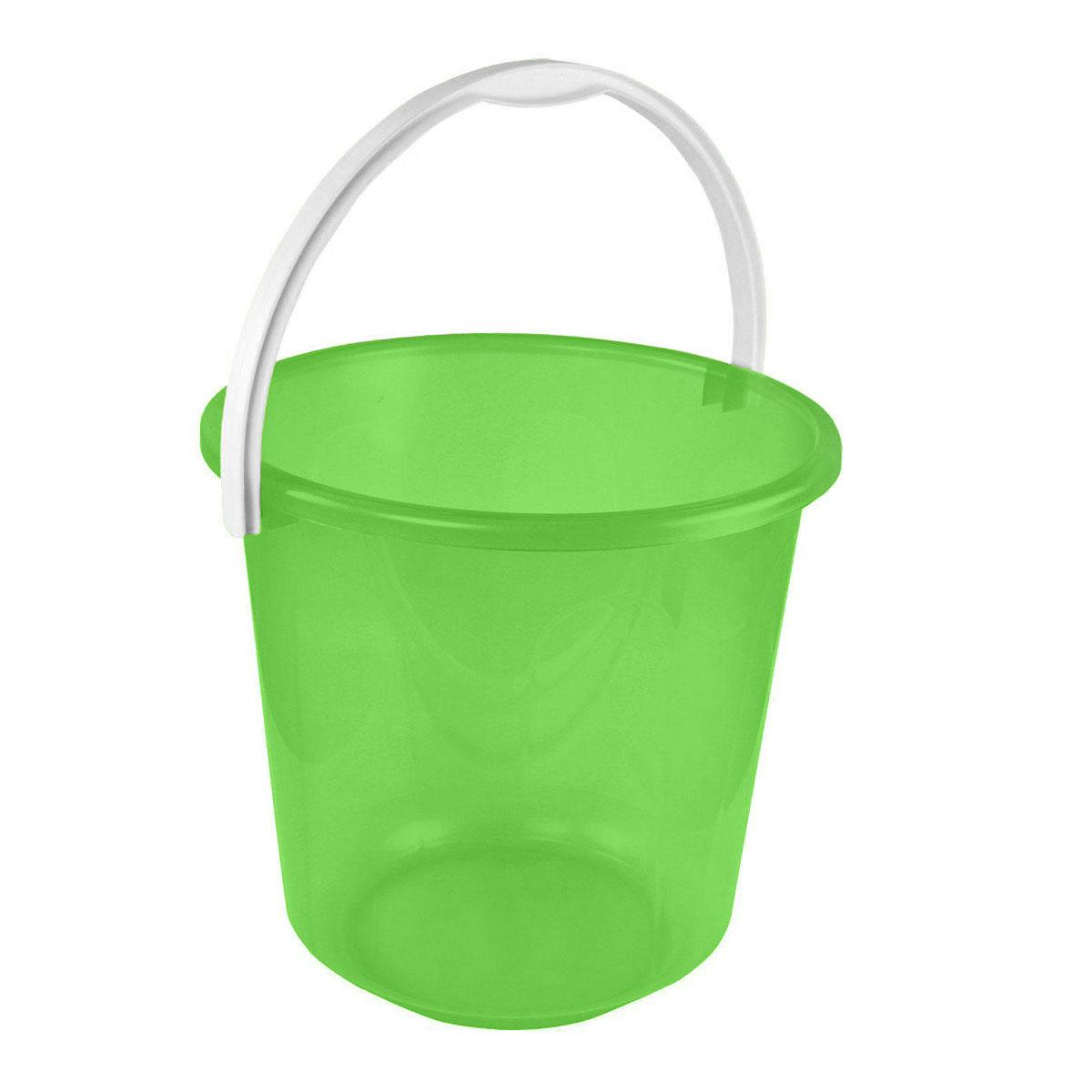 Ведро Альтернатива Хозяюшка, цвет: зеленый, 10 лМ1212Ведро Альтернатива Хозяюшка изготовлено из высококачественного пластика и оснащено отметками литража. Оно легче железного и не подвержено коррозии. Ведро имеет удобную пластиковую ручку. Такое ведро станет незаменимым помощником в хозяйстве. Идеально для хранения пищевых отходов. Размер: 28 см х 28 см х 26,5 см.