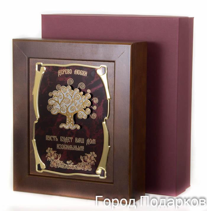 """Ключница Дерево любви """"Пусть будет Ваш дом изобильным"""", 36,5 х 32 см, подарочная коробка 50215001"""