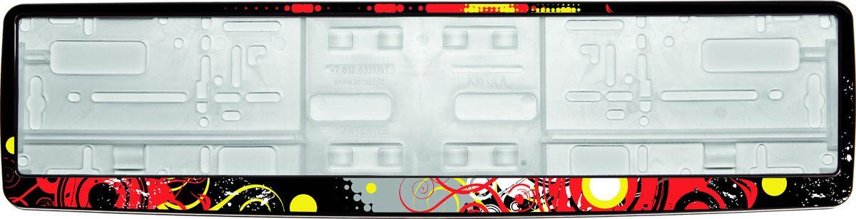 Рамка под номер НокаутCA-3505Рамка Нокаут не только закрепит регистрационный знак на вашем автомобиле, но и красиво его оформит. Основание рамки выполнено из полипропилена, материал лицевой панели - пластик.Она предназначена для крепления регистрационного знака российского и европейского образца, декорирована изображением. Устанавливается на все типы автомобилей. Крепления в комплект не входят.Стильный дизайн идеально впишется в экстерьер вашего автомобиля.Размер рамки: 53,5 см х 13,5 см. Размер регистрационного знака: 52,5 см х 11,5 см.