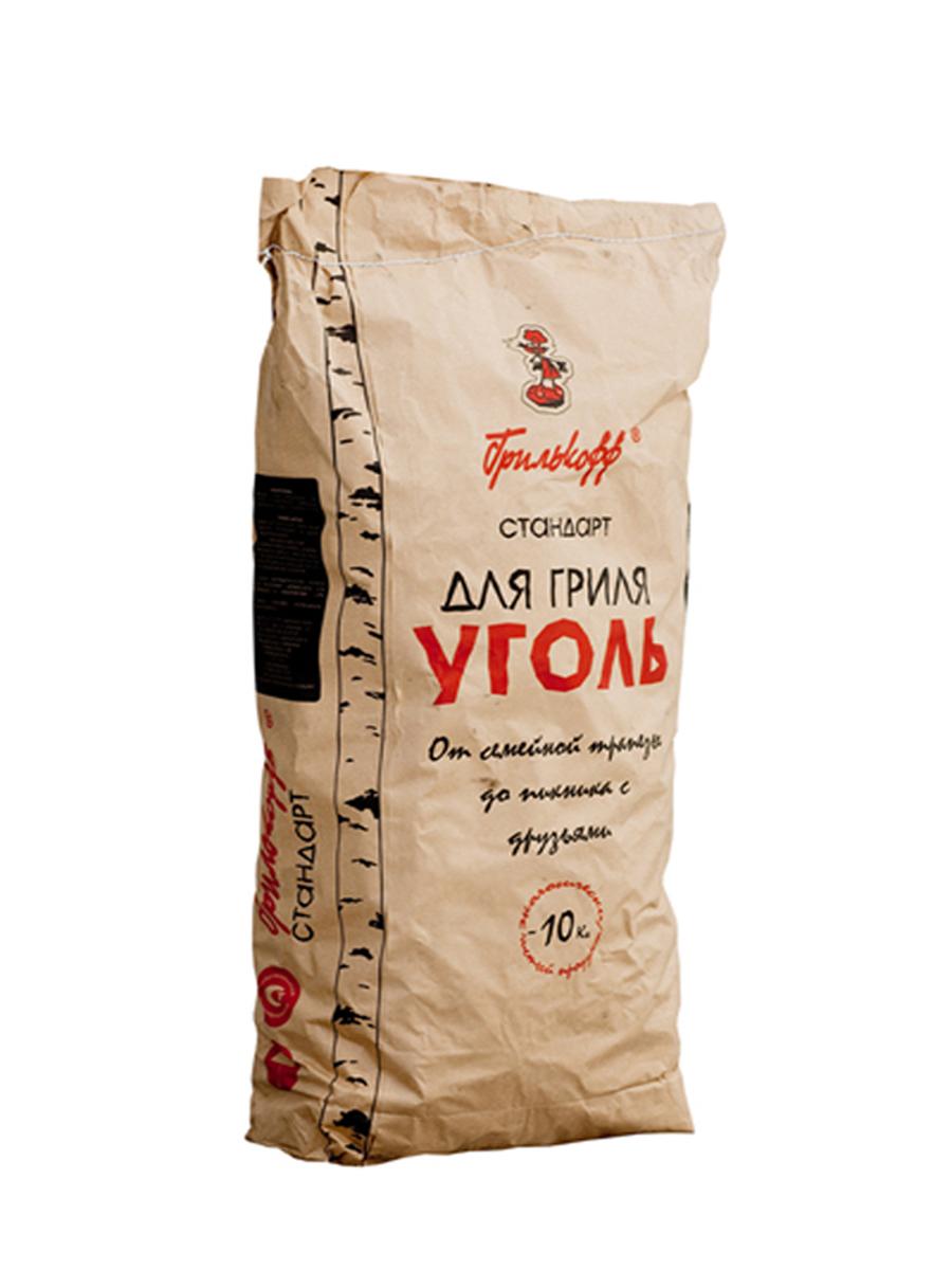 Уголь березовый Грилькофф Стандарт, для гриля, 10 кг3Березовый уголь Грилькофф Стандарт предназначен для быстрого и качественного приготовления разнообразных блюд в мангалах и грилях. Преимущество древесного угля: - не дает пламени, обладает высокой теплоотдачей; - не выделяет канцерогенных веществ. Любые идеи для любого случая: от семейной трапезы до пикника с друзьями, любые блюда на вкус: грили из мяса, рыбы, птицы, изысканные вегетарианские блюда и овощи вы приготовите за считанные минуты с высоким гастрономическим эффектом. Размер упаковки: 90 см х 40 см х 20 см. Вес упаковки: 10 кг.