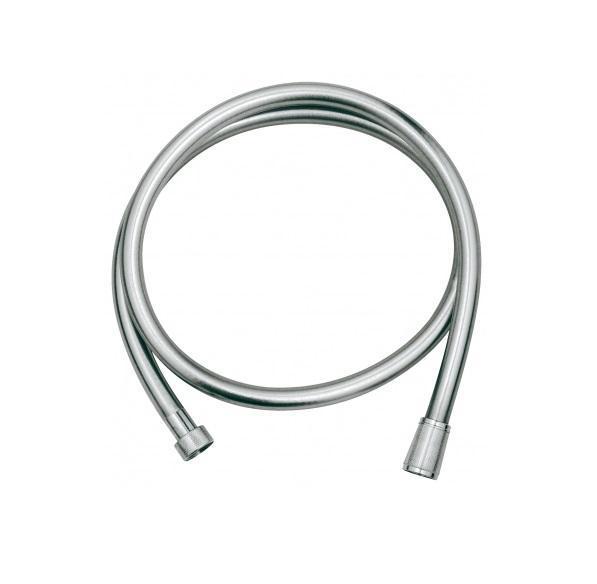 Душевой шланг Grohe Silverflex, длина 2 м. 4005176836237BA900Из пластика с гладкой поверхностью повышенной гибкости, легко чистится С защитой от залома, на обоих краях вращающийся конус (Anti-Twist) Поворотный конус для функции Twistfree 2000 мм 1/2? x 1/2? GROHE StarLight хромированная поверхность Видео по установке является исключительно информационным. Установка должна проводиться профессионалами!