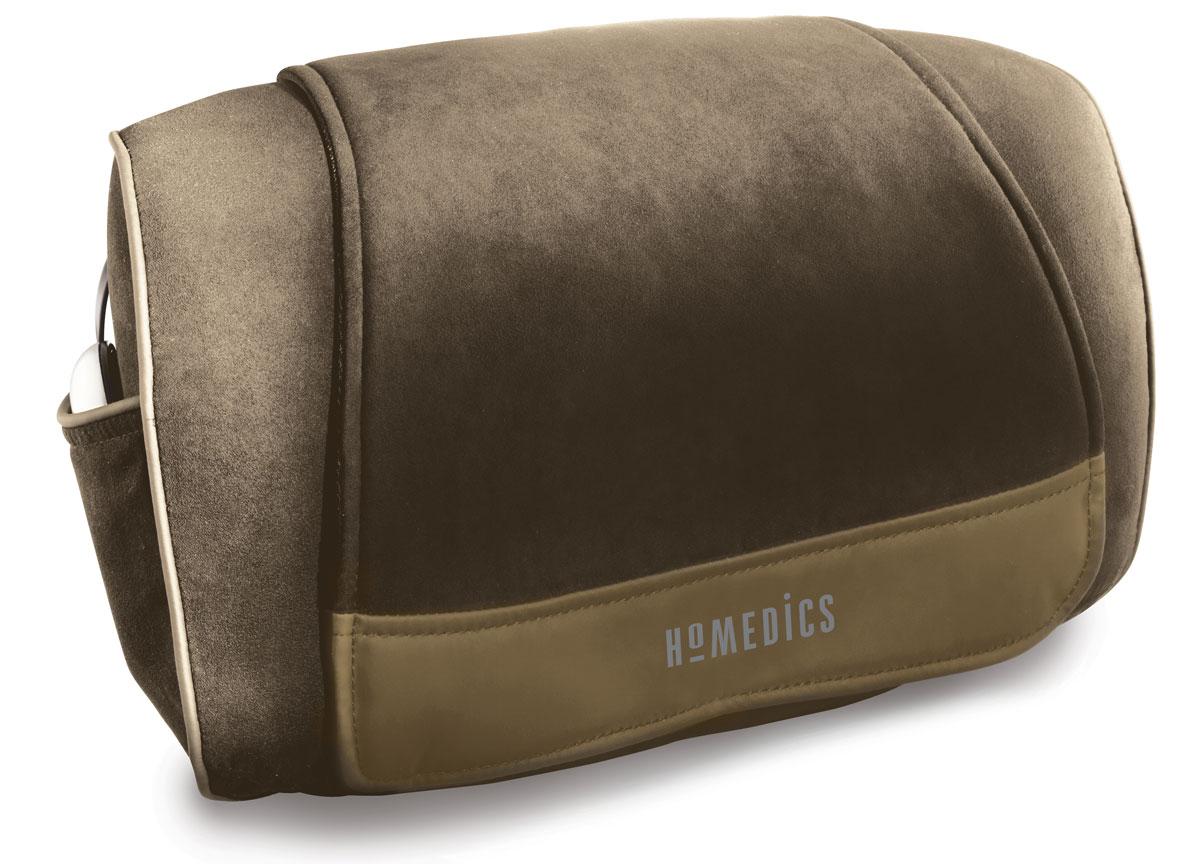 Массажная подушка HOMEDICS SP-39HW-EUSP-39HW-EUГлавное преимущество массажной подушки Шиацу SP-39HW-EU, произведенной американской компанией «Homedics», — это возможность воспользоваться функцией вибромассажа, который приносит быстрое облегчение при скованности мышц в шейной, плечевой и поясничной зонах. Кроме того, что массаж шиацу сам по себе оказывает превосходное действие на проблемные участки тела, в короткие сроки снимает накопившуюся усталость и приводит организм в тонус, дополнительные вибрации усиливают эффект — вы буквально воспрянете духом даже после непродолжительного сеанса такого массажа. С моделью Шиацу SP-39HW-EU лечебный точечный массаж шеи, плеч и поясничной зоны станет эффективным стимулированием возможностей вашего организма, улучшит кровообращение и нормализует процессы регуляции. Управлять массажной подушкой Шиацу SP-39H-EU можно при помощи специального входящего в комплект пульта дистанционного управления. Наличие двух режимов управления — с функцией подогрева и без — сообщает...
