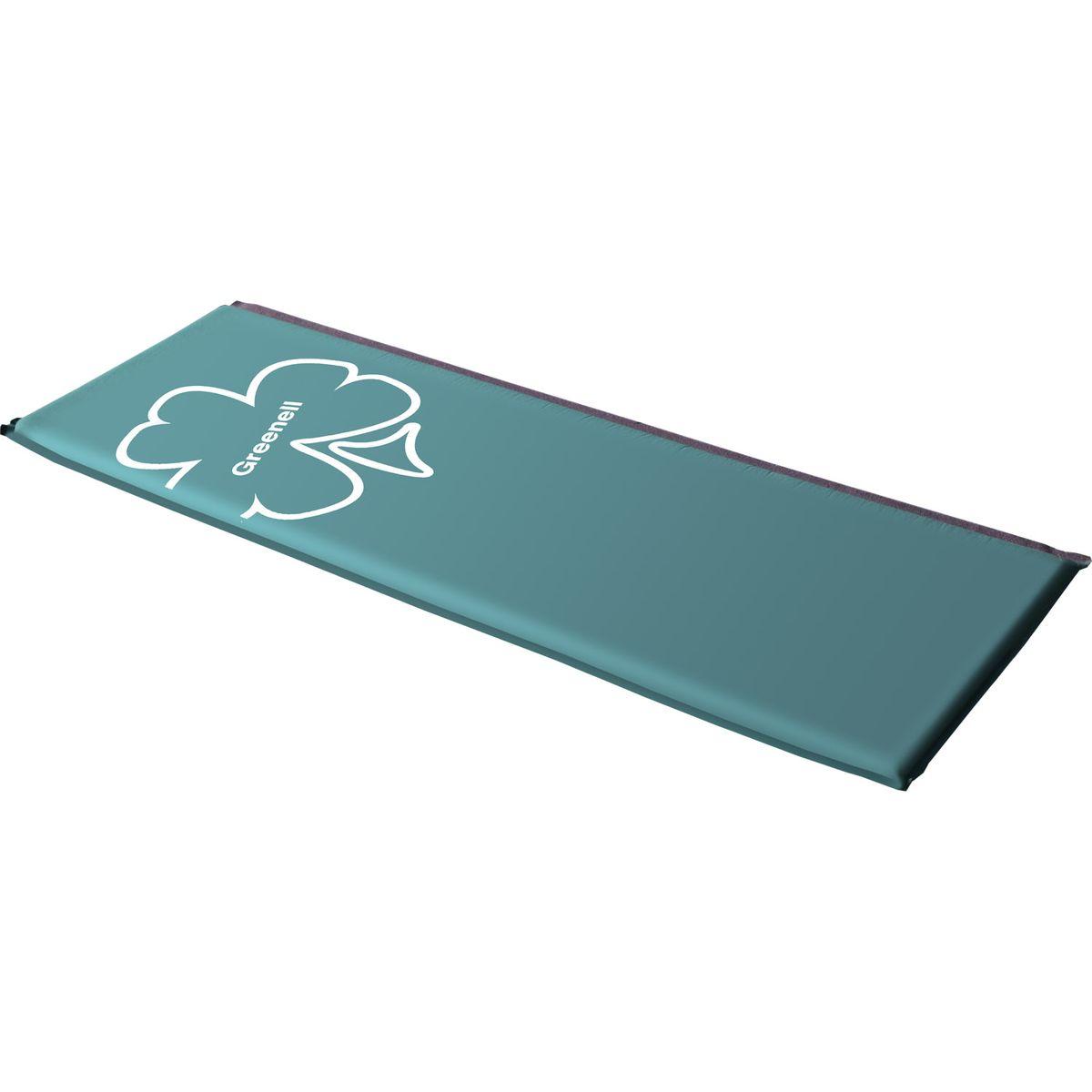 "Коврик самонадувающийся Greenell ""Классик"", цвет: зеленый, 198 см х 63 см х 5 см 95260-366-00"