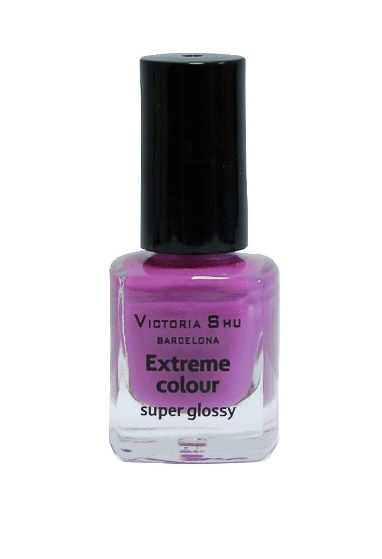 Victoria Shu Лак для ногтей Extreme Colour, тон № 233, 6 мл553V15132EXTREME COLOUR от VICTORIA SHU – это 35 ярких, смелых, соблазнительных оттенков. Модный тренд – матовая, насыщенная текстура. Любые цвета – на любой вкус, от нежных пастельных, интенсивных супермодных оранжевых, лиловых и оттенков фуксии до сенсационных красного и черного.