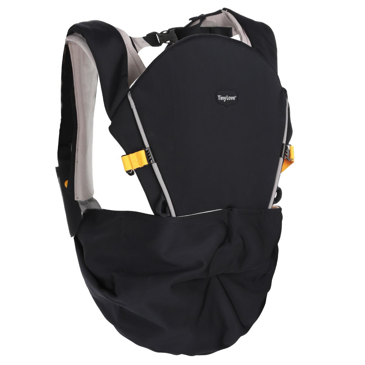 """Рюкзак-кенгуру Tiny Love """"Tiny Hug Carrier"""", цвет: черный 1900306130"""