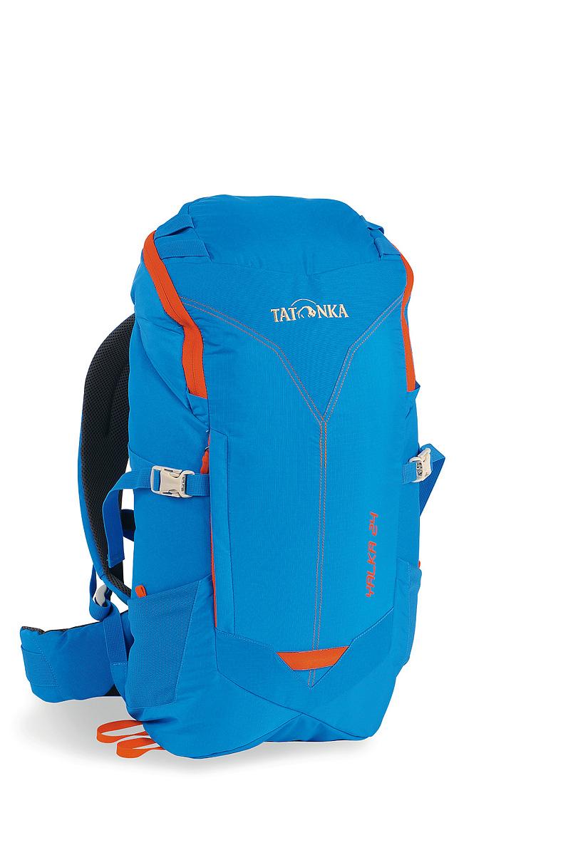 Рюкзак cпортивный Tatonka Yalka 24, цвет: ярко-синий, 24 л1476.194Удобный спортивный рюкзак Tatonka Yalka 24 с верхней загрузкой. Несущая система X Vent Zero обеспечивает максимальную вентиляцию даже в жаркую погоду. Преимущества и особенности : Несущая система X Vent Zero Регулируемый нагрудный ремень S-образные плечевые лямки Мягкий набедренный ремень Боковые утягивающие ремни Дождевой чехол в комплекте Выход для питьевой системы Боковые сетчатые карманы Петли на крышке рюкзака.