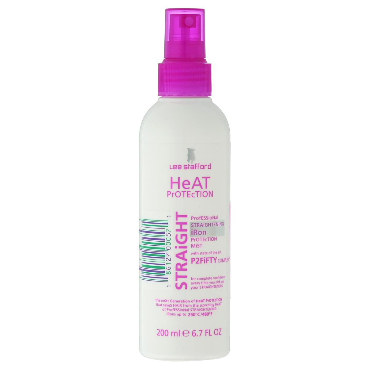 Lee Stafford Профессиональный спрей Poker Straight, защищающий волосы при использовании выпрямляющих приборов, 200 млБ33041_шампунь-барбарис и липа, скраб -черная смородина200408 Lee Stafford Спрей, защищающий волосы при использовании выпрямляющих приборов Heat Protection Straight, 200 мл. Содержит комплекс P2Fifty, защищающий волосы от повреждений при нагреве завивающих приборов до 250С. Распылите спрей с расстояния 20-30 см. на волосы, высушенные полотенцем, а затем просушите их феном. Перед использованием выпрямляющих приборов распылите спрей на участок волос, который будет контактировать со щипцами.