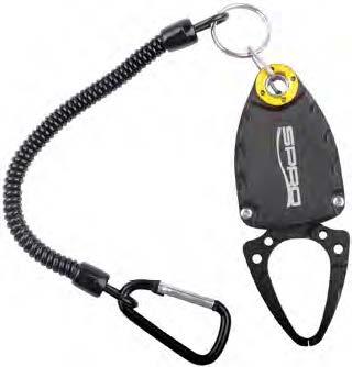 Инструмент рыболова SPRO Micro Fish Gripper, 9 см0044637Инструмент рыболова SPRO Micro Fish Gripper предназначен для зацепления рыбы небольших размеров. Захват оснащен проводом, на конце которого расположен карабин, благодаря чему инструмент можно прицепить к рюкзаку или на ремень. Максимальная длина провода: 14,5 см. Ширина раскрытия захвата: 2 см.