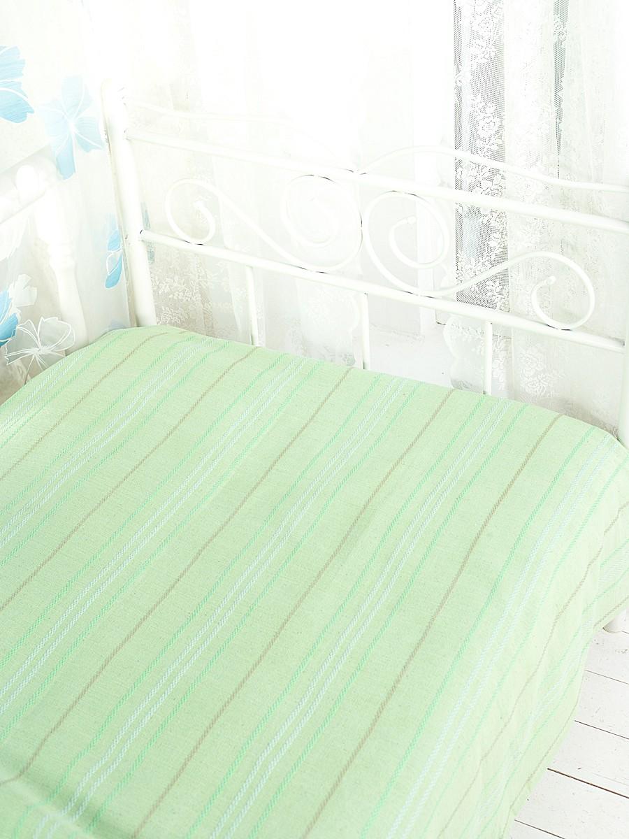 Покрывало Arloni Стокгольм, цвет: фисташка, 200 х 240 см16056Покрывало Arloni Стокгольм прекрасно оформит интерьер гостиной или спальни. Изготовлено из экологически чистого материала - 100% хлопка, поэтому подходит как для взрослых, так и для детей. Натуральные краски абсолютно гипоаллергенны. Покрывало однотонное, оформлено вышивкой в виде разноцветных полосок. Хорошо смотрится и на диване, и на большой кровати. Покрывало Arloni не только подарит тепло, но и гармонично впишется в интерьер вашего дома.