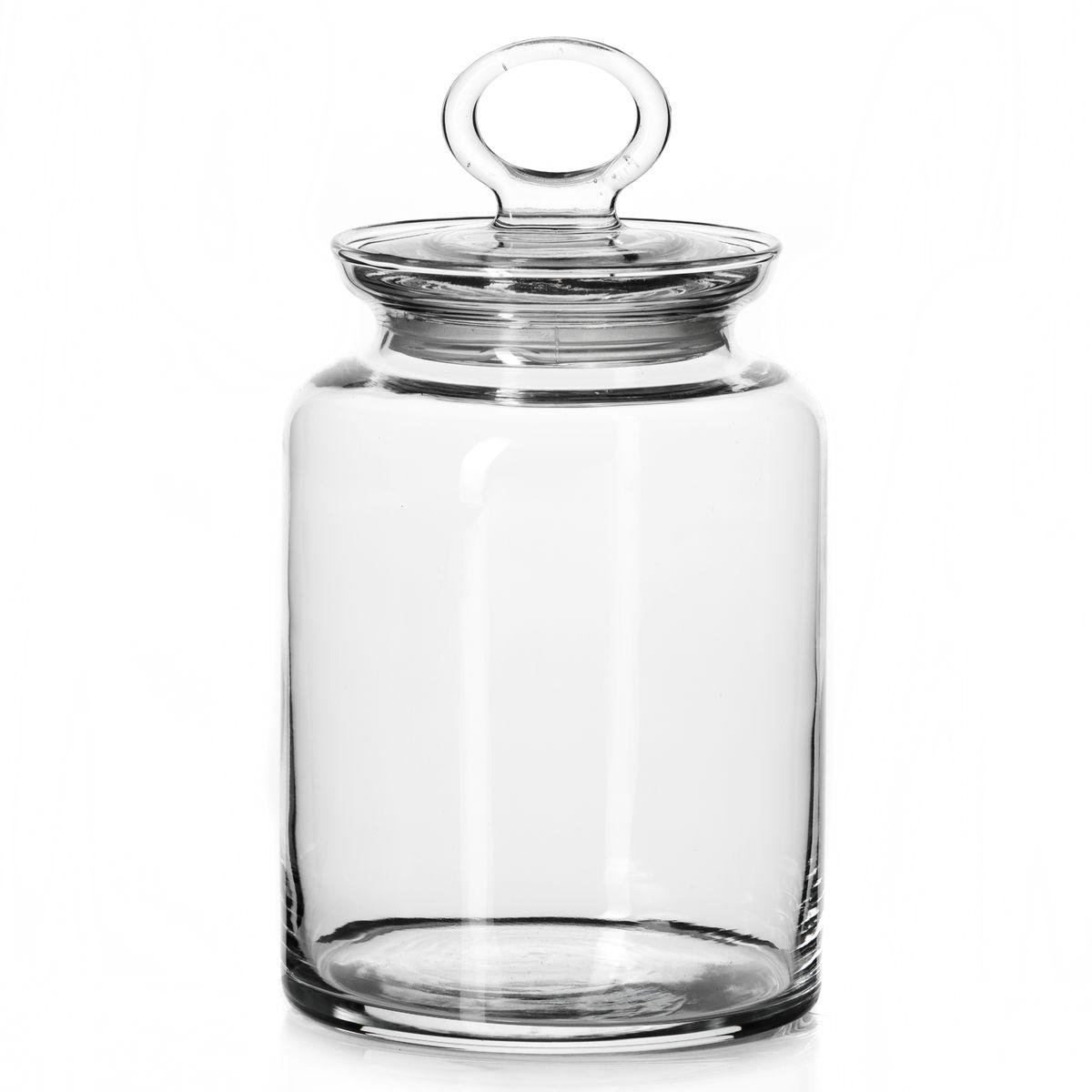 Банка для сыпучих продуктов Pasabahce Kitchen с крышкой, 1,5 лVT-1520(SR)Банка Pasabahce Kitchen выполнена из прочного натрий-кальций-силикатного стекла. Банка оснащена крышкой с ручкой-кольцом и силиконовой вставкой, обеспечивающей плотное прилегание крышки. В такой банке удобно хранить, крупы, макароны, печенье и многое другое. Функциональная и практичная, такая банка станет незаменимым аксессуаром на вашей кухне.Объем банки: 1,5 л.Диаметр банки по верхнему краю: 9,5 см.Высота банки (без учета крышки): 17,5 см.Диаметр основания: 11,5 см.