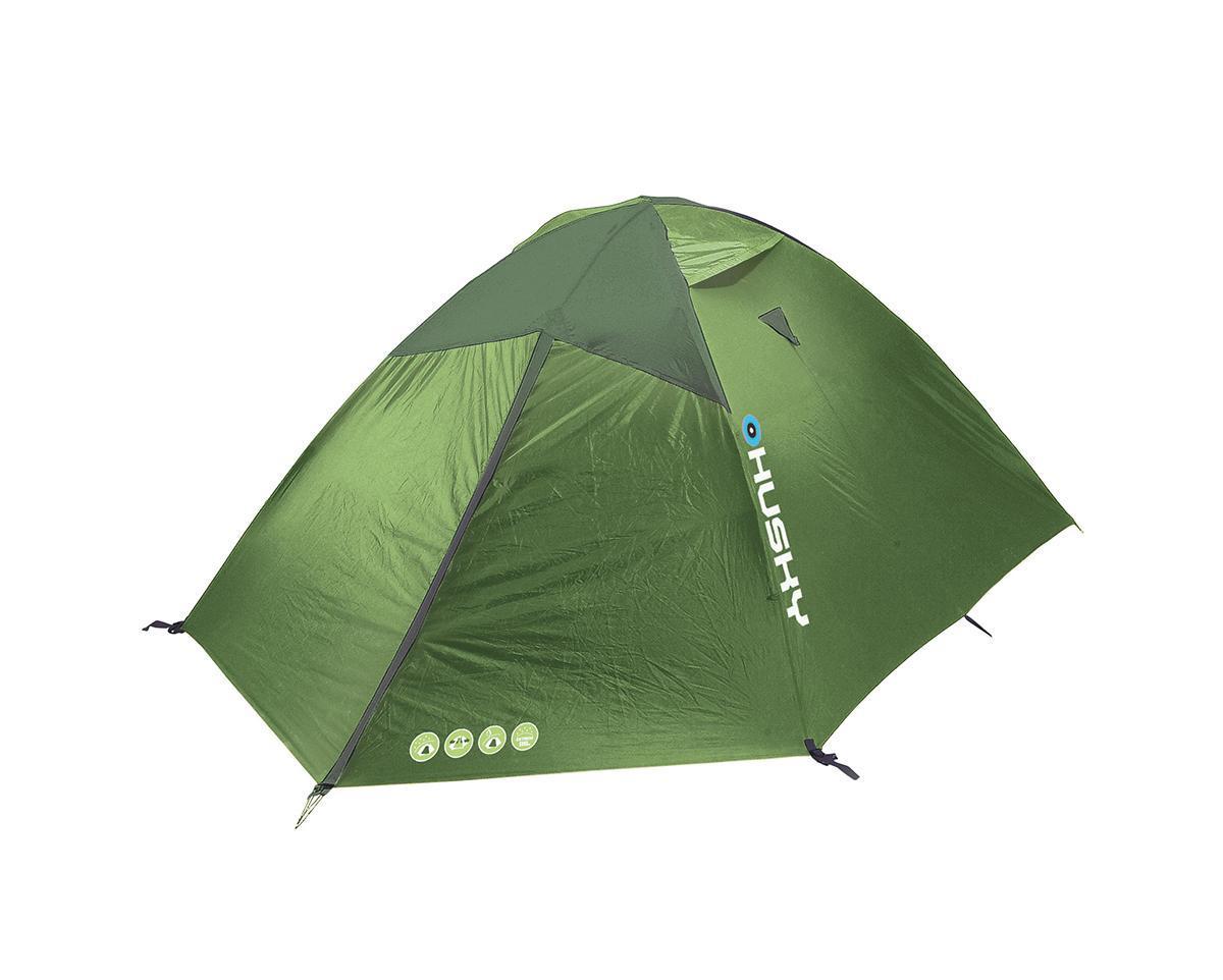 Палатка Husky Baron 3 Light Green, цвет: светло-зеленыйУТ-000046662Палатка Husky Baron 3 представляет собой классическую трехместную палатку с двумя входами и алюминиевыми дугами. Палатка выполнена из водоотталкивающего нейлона, швы наружного тента проклеены специальной лентой. Конструкция с тремя дугами дает достаточное место в вестибюле для всего возможного багажа или приготовления еды во время непогоды. В комплекте съемная подвесная полка под купол палатки. Палатка отлично подходит для разнообразного туризма и кемпинга. Палатка упакована в сумку-чехол с двумя удобными ручками, закрывающуюся на застежку-молнию. Характеристики: Количество мест: 3. Размер палатки: 410 см х 220 см х 125 см. Спальная комната: 210 см х 220 см. Количество входов: 2 шт. Дуги из фибергласа: диаметр 8,5 мм. Материал тента: Полиэстер RipStop 21ОТ с PU-покрытием. Материал дна: Полиэстер 190Т с PU-покрытием. Материал внутренней палатки: Водоотталкивающий нейлон 190т, противомоскитная сетка. Размер в сложенном...