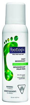 Footlogix Дезодорант для ног с антибактериальным эффектом, 125 млFXP09R0125-9Дезодорант нейтрализует неприятные запахи, экстракт мяты охлаждает кожу и оставляет освежающий аромат. Экстракт чайного дерева защищает ноги от грибковых заболеваний. Гигиенический дозатор предотвращает попадание воздуха в продукт, что позволяет продлить срок хранения. Идеален для спортсменов и людей, которые носят обувь из недышащего материала.