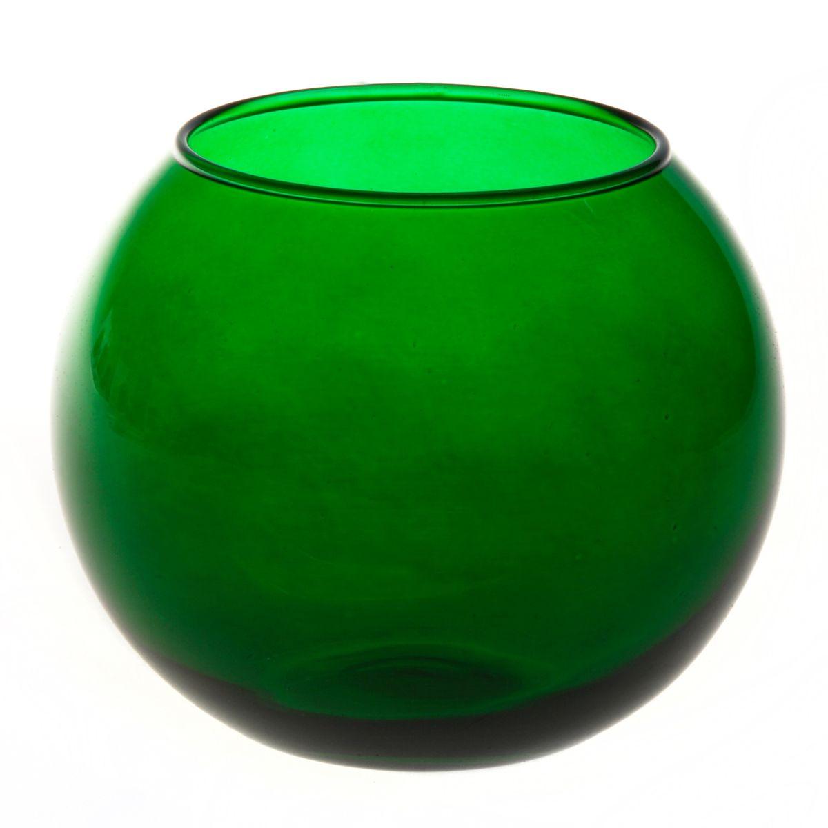 Ваза Workshop Flora, цвет: зеленый, высота 11 см43417GRВаза Workshop Flora, выполненная из натрий-кальций-силикатного стекла, сочетает в себе изысканный дизайн с максимальной функциональностью. Круглая ваза имеет гладкие одноцветные стенки. Она идеально подойдет для мелких цветов. Такая ваза придется по вкусу и ценителям классики, и тем, кто предпочитает утонченность и изысканность. Высота вазы: 11 см. Диаметр вазы (по верхнему краю): 7,9 см.