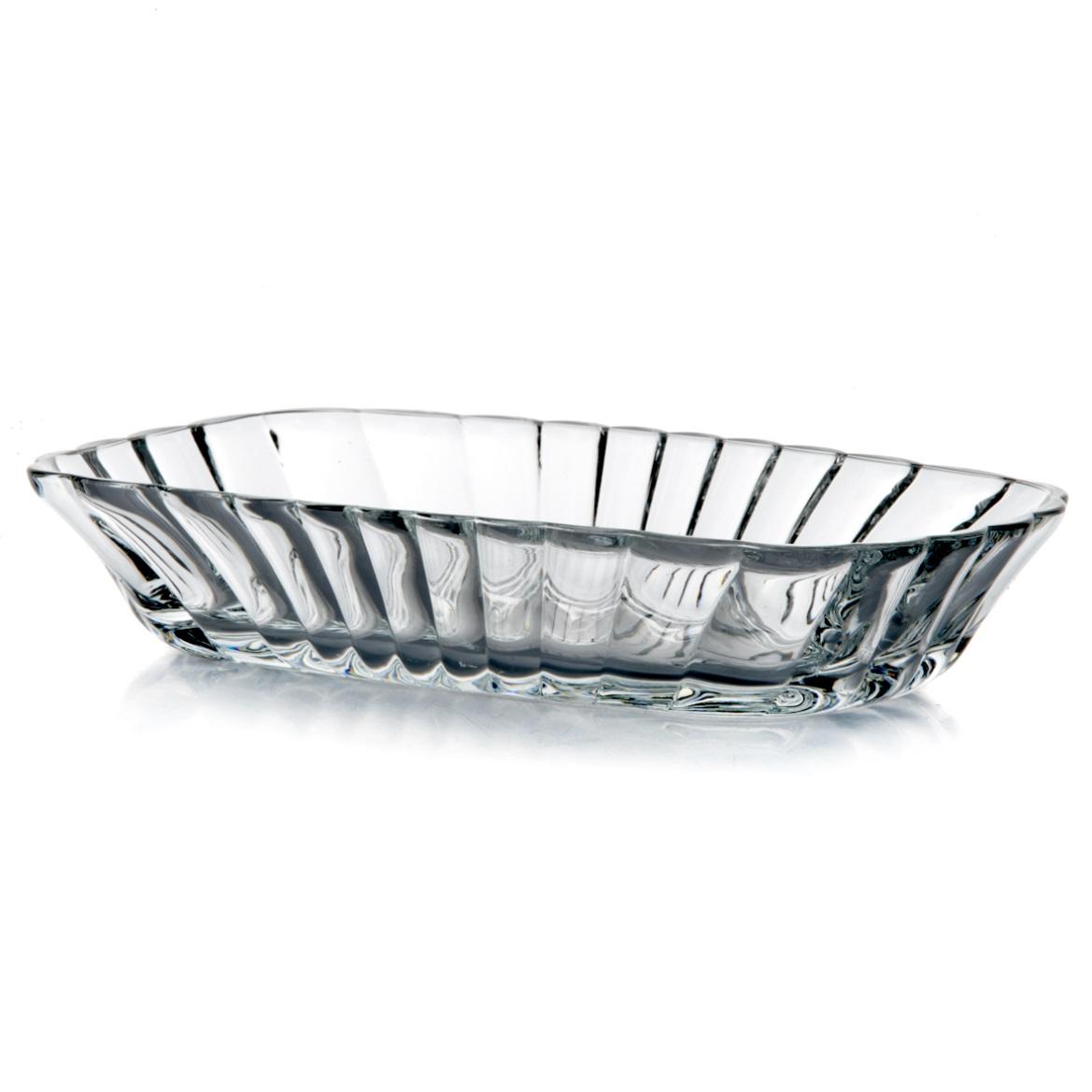 Набор салатников Pasabahce Mezze, цвет: прозрачный, 18,8 см х 12 см, 2 шт53712Набор Pasabahce Mezze состоит из двух салатников, выполненных из натрий-кальций-силикатного стекла. Стенки салатников рельефные. Изделия сочетают в себе изысканный дизайн и функциональность. Набор салатников Pasabahce Mezze прекрасно оформит праздничный стол и создаст приятную атмосферу за ужином. Такой набор также станет хорошим подарком к любому случаю. Размер салатника: 18,8 см х 12 см х 3,5 см.