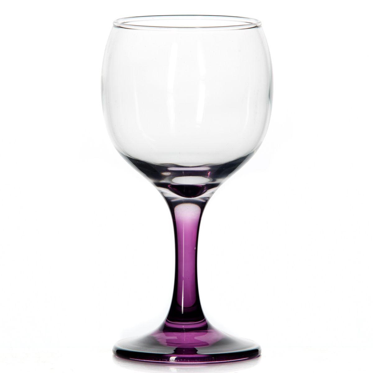 Набор бокалов Pasabahce Glass for You, цвет: сиреневый, 220 мл, 3 шт44412PRНабор Pasabahce Glass for You состоит из трех бокалов, выполненных из натрий-кальций-силикатного стекла. Изделия оснащены элегантными ножками. Бокалы сочетают в себе изысканный дизайн и функциональность. Благодаря такому набору пить напитки будет еще вкуснее. Набор бокалов Pasabahce Glass for You прекрасно оформит праздничный стол и создаст приятную атмосферу за романтическим ужином. Такой набор также станет хорошим подарком к любому случаю. Диаметр бокала (по верхнему краю): 6 см. Высота бокала: 15 см.