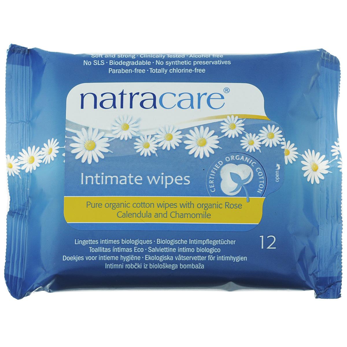 Влажные очищающие салфетки Natracare Organic Cotton для интимной гигиены, 12 шт782126200150Влажные очищающие салфетки Natracare Organic Cotton предназначены для ежедневной интимной гигиены, будут необходимы во время путешествий. Салфетки, обогащенные Био эфирными маслами, изготовлены из 100% Био-хлопка, не содержат вредные ингредиенты, не отбелены хлором, и полностью разлагаются после применения. Мягкие, прочные и клинически протестированные салфетки Natracare Organic Cotton очищают и освежают, оставляя кожу мягкой.