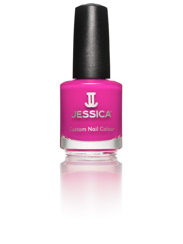 Jessica Лак для ногтей, оттенок 715 Dased Dahlia, 14,8 мл1301210Лаки JESSICA содержат витамины A, Д и Е, обеспечивают дополнительную защиту ногтей и усиливают терапевтическое воздействие базовых средств и средств-корректоров.