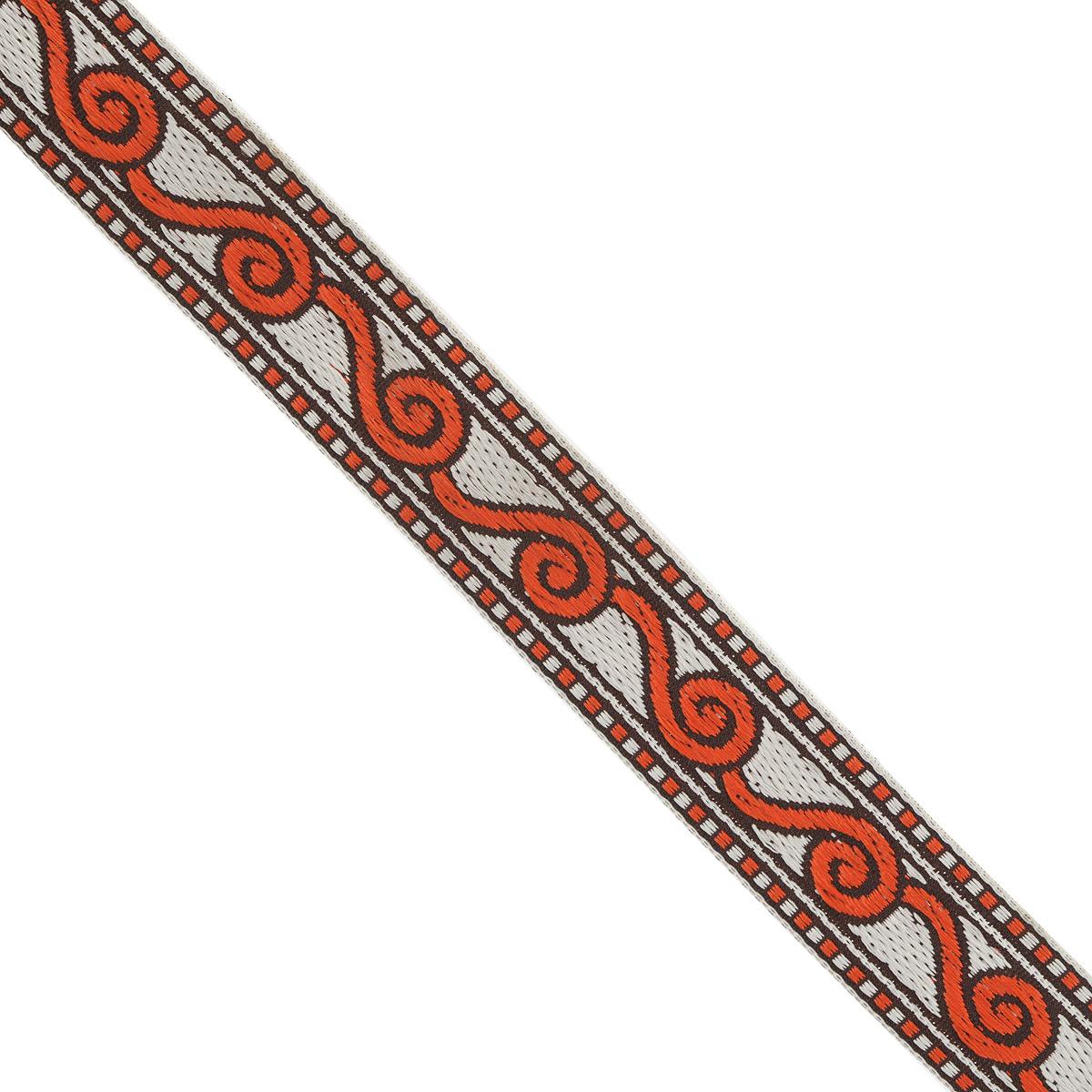 Тесьма декоративная Астра, цвет: красный (4), ширина 2 см, длина 16,4 м. 77032717703271_4Декоративная тесьма Астра выполнена из текстиля и оформлена оригинальным орнаментом. Такая тесьма идеально подойдет для оформления различных творческих работ таких, как скрапбукинг, аппликация, декор коробок и открыток и многое другое. Тесьма наивысшего качества и практична в использовании. Она станет незаменимым элементом в создании рукотворного шедевра. Ширина: 2 см. Длина: 16,4 м.