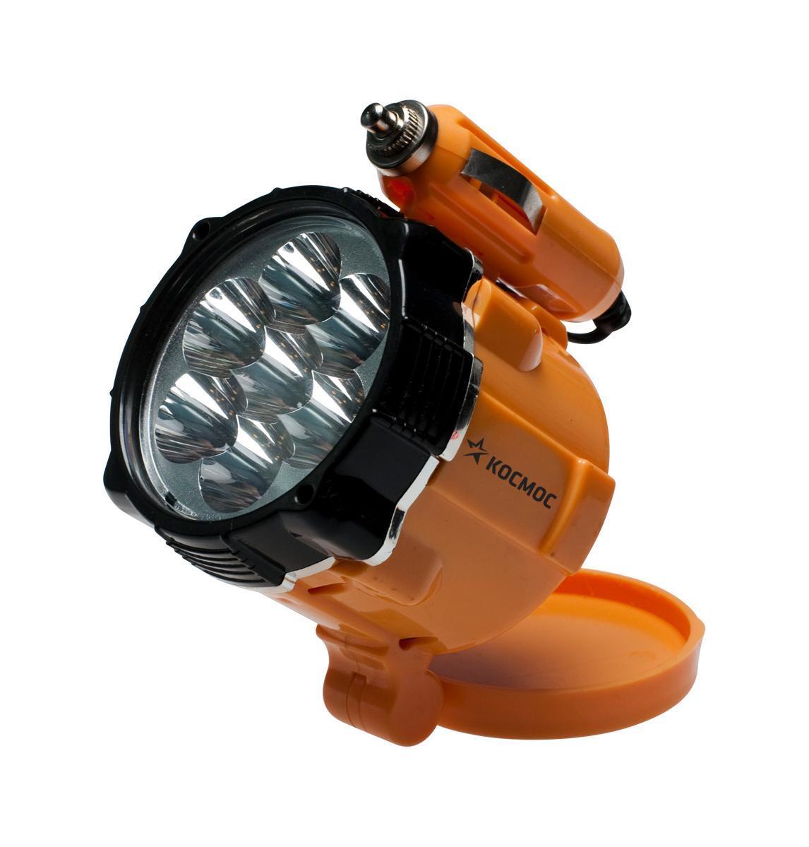 Фонарь-переноска Космос светодиодный, на магните. КОСAu6001LEDKOCAu6001LEDФонарь-переноска KOCAu6001LED особенно удобен для использования автолюбителями и в путешествиях. Длина свечения - 1 метр. Источниками света выступают 7 светодиодных ламп. Питается от бортовой сети автомобиля. Время работы - 3 часа. Характеристики: Материал: пластик, стекло, металл, магнит. Размер фонаря: 6,5 см х 9 см х 7,5 см. Тип лампочки: LED. Количество лампочек: 7 шт. Производитель: Россия. Изготовитель: Китай. Артикул: КОСAu6001LED. Космос - российский бренд электротоваров, созданный, чтобы обеспечить отечественного покупателя качественной энергосберегающей и энергоэффективной продукцией в категориях: Лампы, светильники Сезонные электротовары Элементы питания, фонари Электроустановочные изделия. Лучшие заводы шести стран мира: Россия, Украина, Белоруссия, Китай, Корея, Япония производят товары Космос на базе современных технологий.