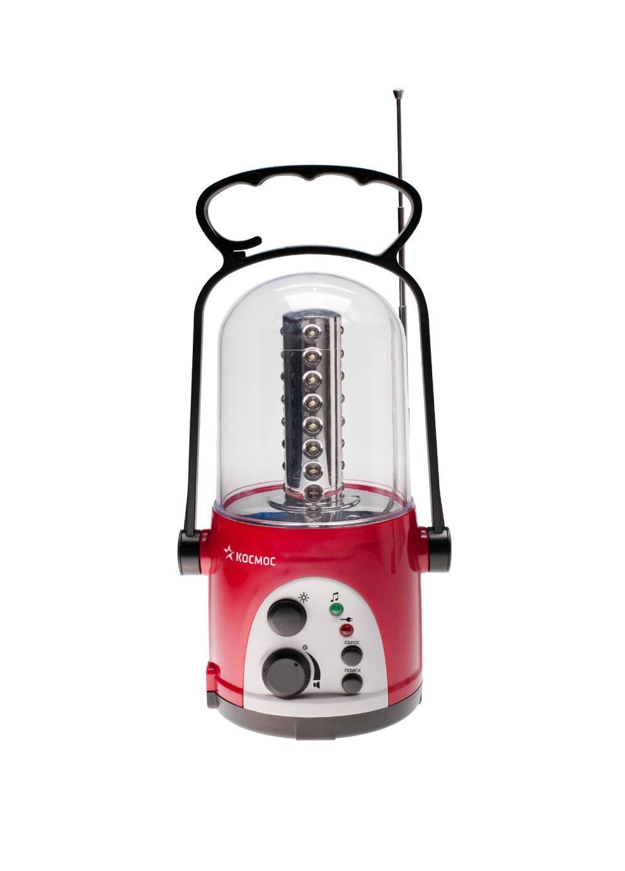 Кемпинговый светодиодный фонарь c радио КОС Ac6010 LED radio