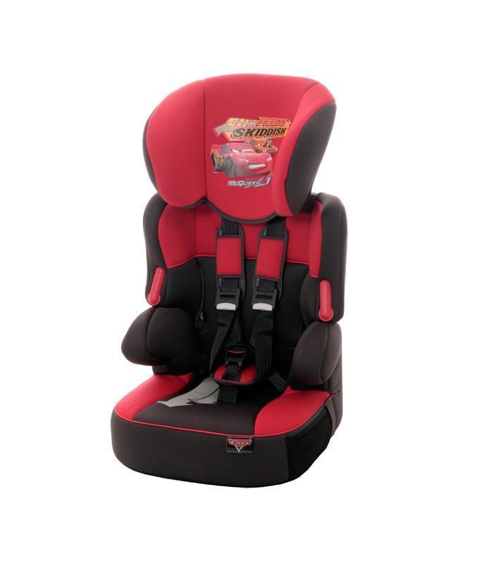 Автокресло Disney Beline SP гр. 1-2-3 CarsDisney293185Автокресло Nania Disney Beline SP (cars) - автокресло группы 1-2-3, подходит для детей с 9 месяцев до 12 лет (с 9 до 36 кг).