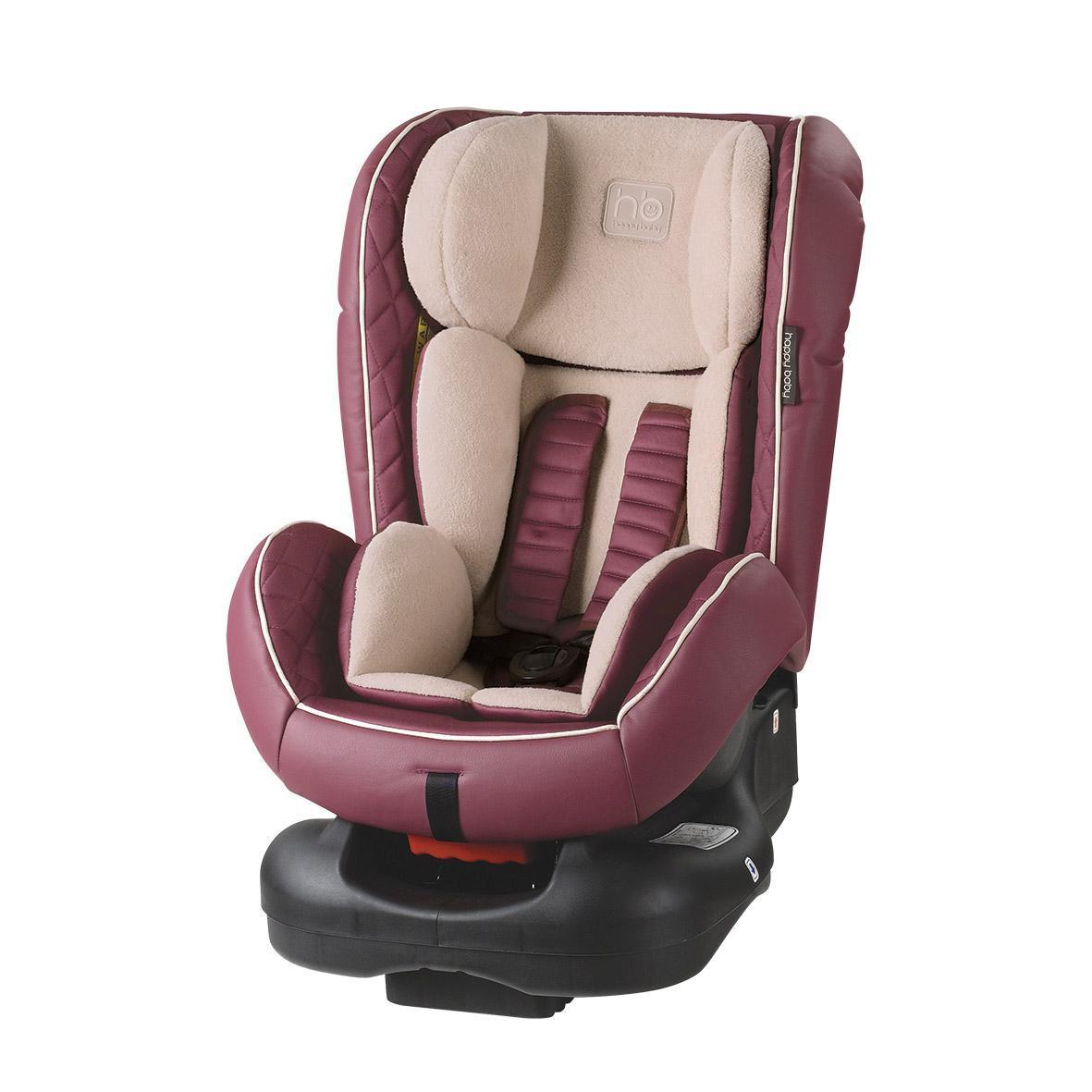 Автокресло Happy Baby Taurus Purple4690624016387Taurus - автомобильное кресло групп 0/I (для детей от 0 до 18 кг). Внешняя часть кресла выполнена из качественной экокожи, приятной на ощупь, которая не пачкается и имеет водоотталкивающий эффект. Благодаря дышащей фактурной текстильной вкладке малыш будет чувствовать себя комфортно. Кресло имеет 4 положения наклона спинки, оснащено удобным механизмом регулировки. Ребенок фиксируется в кресле с помощью пятиточечных ремней безопасности, оснащенных регулируемыми по высоте накладками. Вы можете комфортно поместить малыша в кресло и быть уверенными в его безопасности. Автокресло крепится в автомобиле с помощью трехточечных штатных ремней безопасности и устанавливается лицом по ходу или против движения автомобиля.
