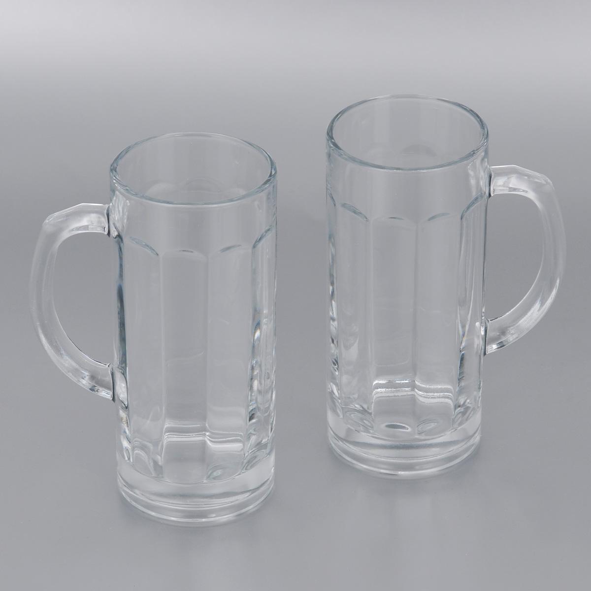 Набор пивных кружек Pasabahce Pub, 380 мл, 2 шт. 55109B55109BНабор Pasabahce Pub состоит из двух пивных кружек, выполненных из прочного натрий-кальций-силикатного стекла. Внутри изделия оснащены рельефной многогранной поверхностью. Кружки оснащены удобными ручками и утолщенным дном. Такой набор прекрасно подойдет для любителей пенного напитка. Можно мыть в посудомоечной машине и использовать в микроволновой печи. Высота кружки: 16,5 см. Диаметр кружки (по верхнему краю): 7 см. 380 мл