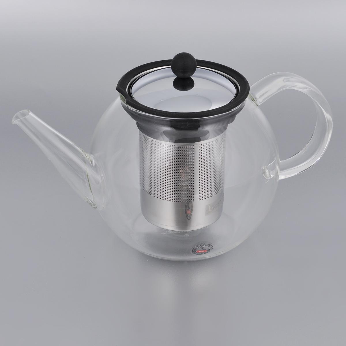 Френч-пресс Bodum Shin Cha, 1 л1803-16Френч-пресс Bodum Shin Cha выполнен из термостойкого стекла. Чайник оснащен фильтром-сеткой и прессом, выполненными из нержавеющей стали. Засыпая чайную заварку в фильтр-сетку и заливая ее горячей водой, вы получаете ароматный чай с оптимальной крепостью и насыщенностью. Остановить процесс заварки чая легко. Для этого нужно просто опустить поршень, и заварка уйдет вниз, оставляя вверху напиток, готовый к употреблению. Френч-пресс Bodum Shin Cha займет достойное место на вашей кухне и позволит вам заварить свежий, ароматный чай. Диаметр (по верхнему краю): 9 см. Высота (без учета крышки): 12,5 см.