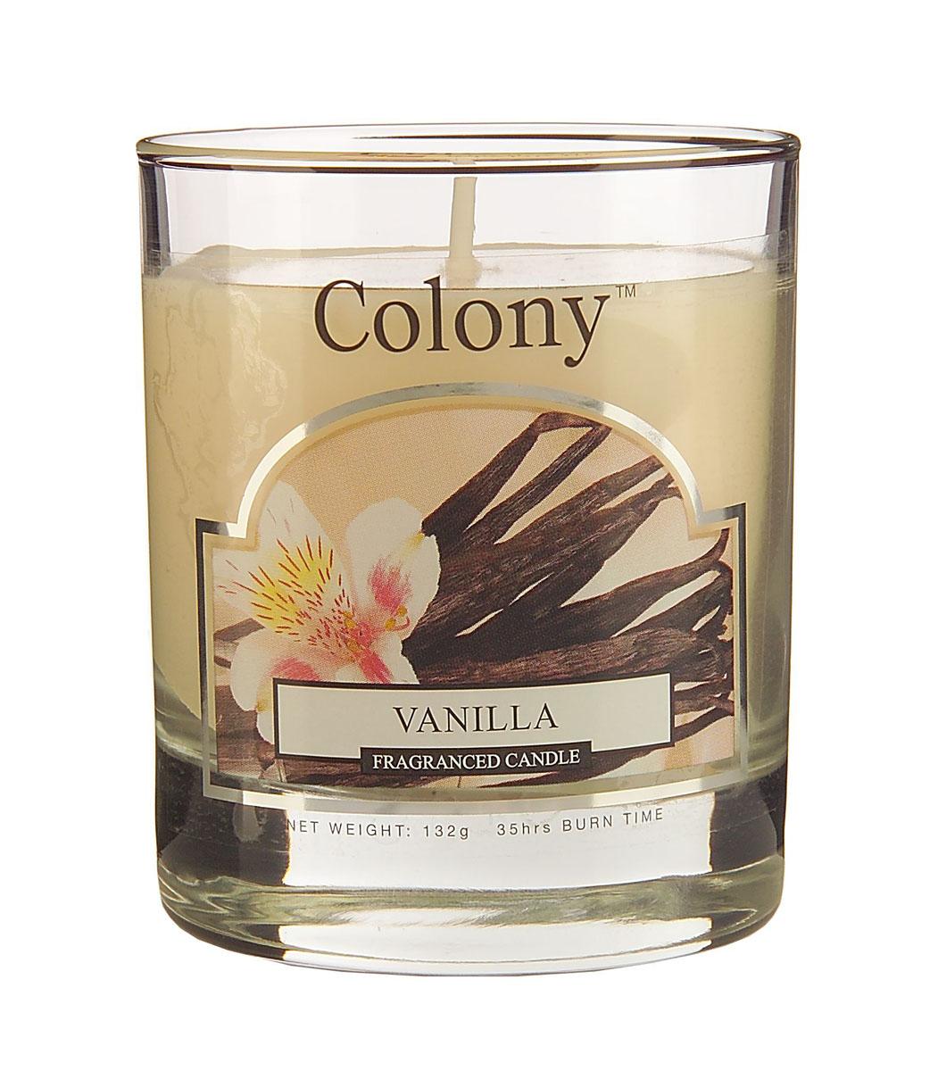 Wax Lyrical Ваниль ароматизированная свеча в стекле малая, 35 часовUP210DFСочетание ароматов стручковой ванилии миндаля наполняет пространство стладким запахом сливочных конфет. Уважаемые клиенты! Обращаем ваше внимание на возможные изменения в дизайне упаковки. Поставка осуществляется в зависимости от наличия на складе.