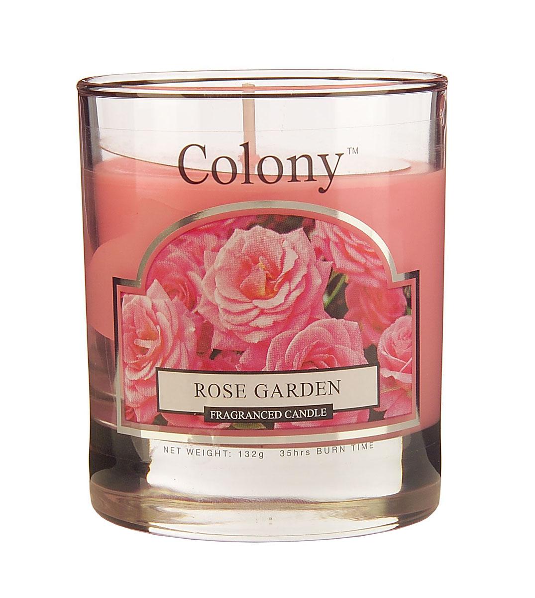 Wax Lyrical Розовый сад ароматизированная свеча в стекле малая, 35часовUP210DFУзнаваемый аромат свежесрезанных роз, переплетающийся с нотками гардении