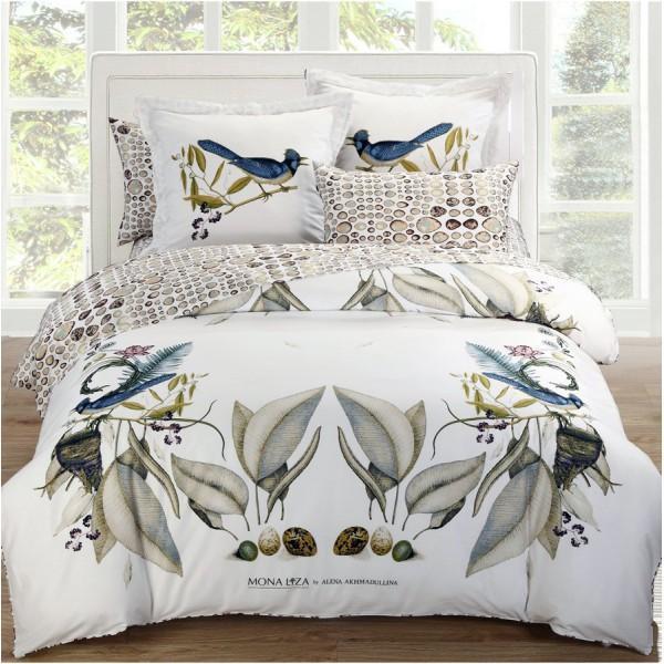 Комплект белья Mona Liza Paradise, 2-спальный, наволочки 50х70, 70х70RC-100BWCКомплект белья Mona Liza Paradise, выполненный из сатина (100% хлопок), состоит из пододеяльника, простыни и наволочек двух размеров по две штуки каждого. Изделия оформлены изящным рисунком. Сатин - прочная, легкая и мягкая на ощупь ткань. Белье из него не линяет при стирке и легко гладится. Эта ткань традиционно считается одной из лучших для изготовления постельного белья.Приобретая комплект постельного белья Mona Liza Paradise,вы можете быть уверенны в том, что покупка доставит вам ивашим близким удовольствие и подарит максимальныйкомфорт.