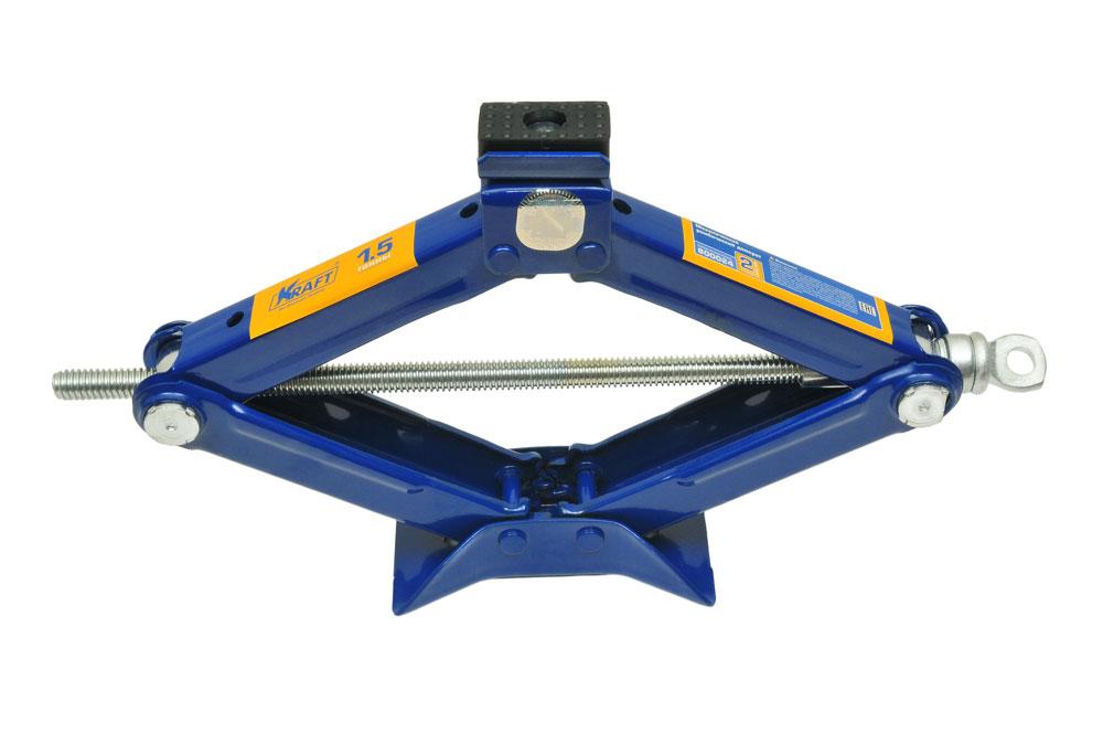 Домкрат ромбический Kraft КТ 800024, 1,5 тКТ 800024Механический ромбический домкрат Kraft предназначен для поднятия грузов. Домкрат отличается компактностью конструкции, простотой обслуживания и надежностью в эксплуатации. Домкрат имеет удобные ручки для плавного равномерного подъема при небольших усилиях. Технические характеристики: Грузоподъемность: 1,5 т. Высота подъема: 385 мм. Высота подхвата: 105 мм. Функциональные особенности: Высокая устойчивость Прорезиненная площадка Удобная ручка Морозостойкость (-45°C) Комплектация: Механический ромбический домкрат. Рукоятка домкрата. Руководство по эксплуатации.
