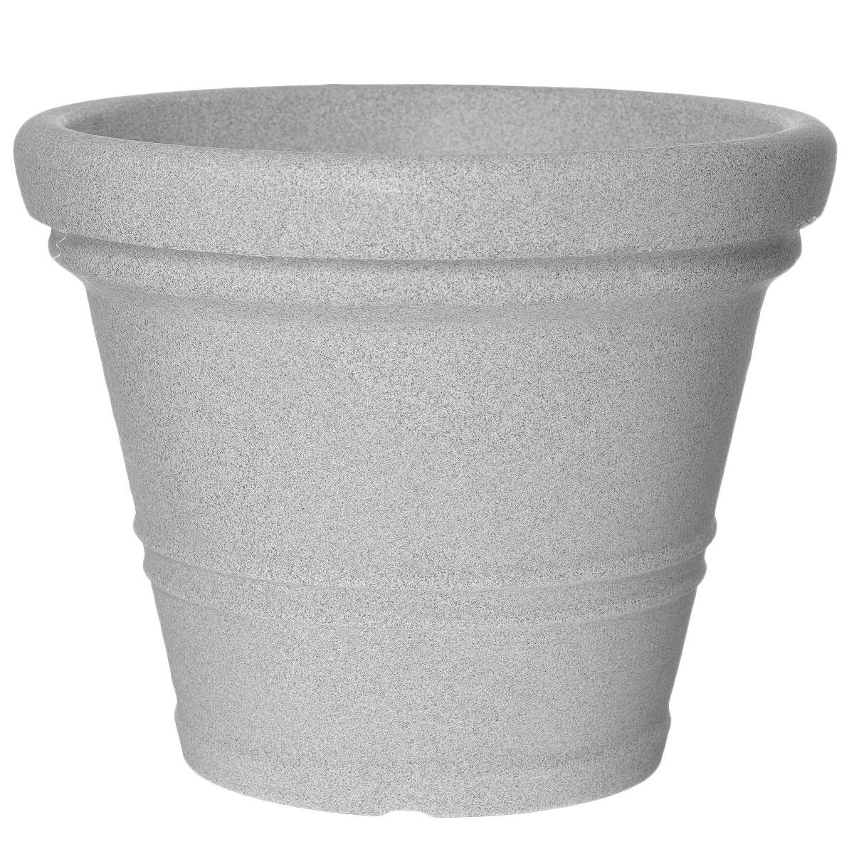 Кашпо для цветов Scheurich, цвет: светло-серый, диаметр 45 см53392SКашпо для цветов Scheurich выполнено из прочного пластика. Изделие предназначено для установки внутрь цветочных горшков с растениями. Такие изделия часто становятся последним штрихом, который совершенно изменяет интерьер помещения или ландшафтный дизайн сада. Благодаря такому кашпо вы сможете украсить вашу комнату, офис, сад и другие места. Диаметр: 45 см.