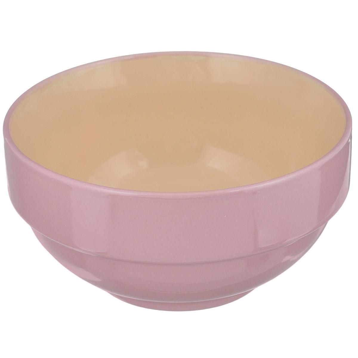 Салатник Shenzhen Xin Tianli, цвет: розовый, 550 мл115510Салатник Shenzhen Xin Tianli выполнен из высококачественной керамики. Салатник прекрасно подойдет для сервировки различных блюд. Яркий дизайн украсит стол и порадует вас и ваших гостей. Диаметр: 14 см. Высота: 7 см. Объем: 550 мл.