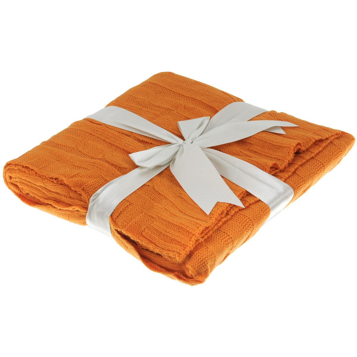 Плед Mona Liza Classic Monet, цвет: оранжевый, 140 х 180 см520403/3Оригинальный вязаный плед Mona Liza Classic Monet послужит теплым, мягким и практичным подарком близким людям. Плед изготовлен из высококачественного 100% акрила. Яркий и приятный на ощупь плед Mona Liza Classic Monet станет отличным дополнением в вашем интерьере.