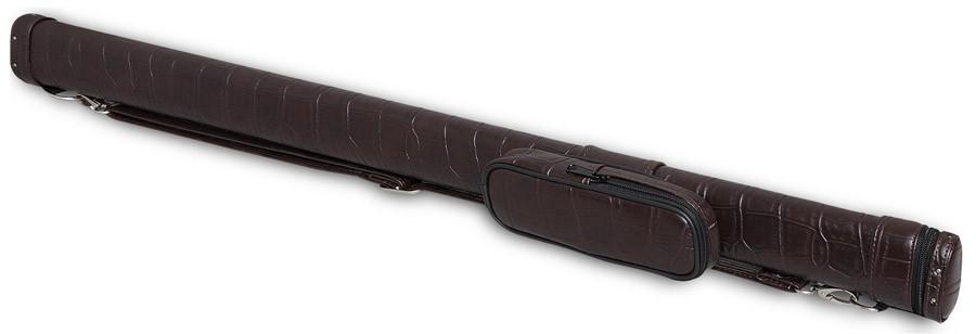 Тубус для киев Fortuna Action TR, цвет: коричневый, 87 см05829Тубус Fortuna Action TR предназначен для хранения и переноски одного разборного кия и защищает его от внешнего воздействия, что позволяет сохранить ваш кий в идеальном состоянии. В конструкции тубуса предусмотрен перемещаемый несъемный карман для мелких аксессуаров (мелки, перчатка, инструменты). Оснащен надежным ремнем для переноски. Длина отделения для кия: 87 см; Длина кармана: 18 см; Форма конструкции: AA.