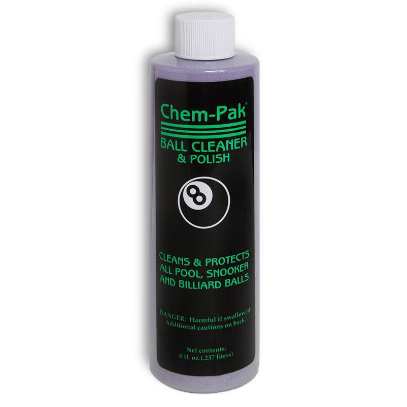 Средство для чистки и полировки шаров Chem-Pak Ball Cleaner & Polish, 237 мл00103Чистящее средство Chem-Pak Ball Cleaner & Polish предназначено для чистки , полировки и защиты бильярдных шаров. Используется при ручной или машинной чистке. Качество чистки гарантируется.