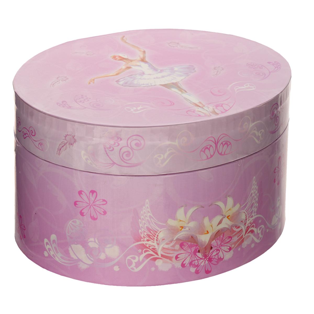"Музыкальная шкатулка Jakos ""Балерина"", цвет: розовый 615000балерина"