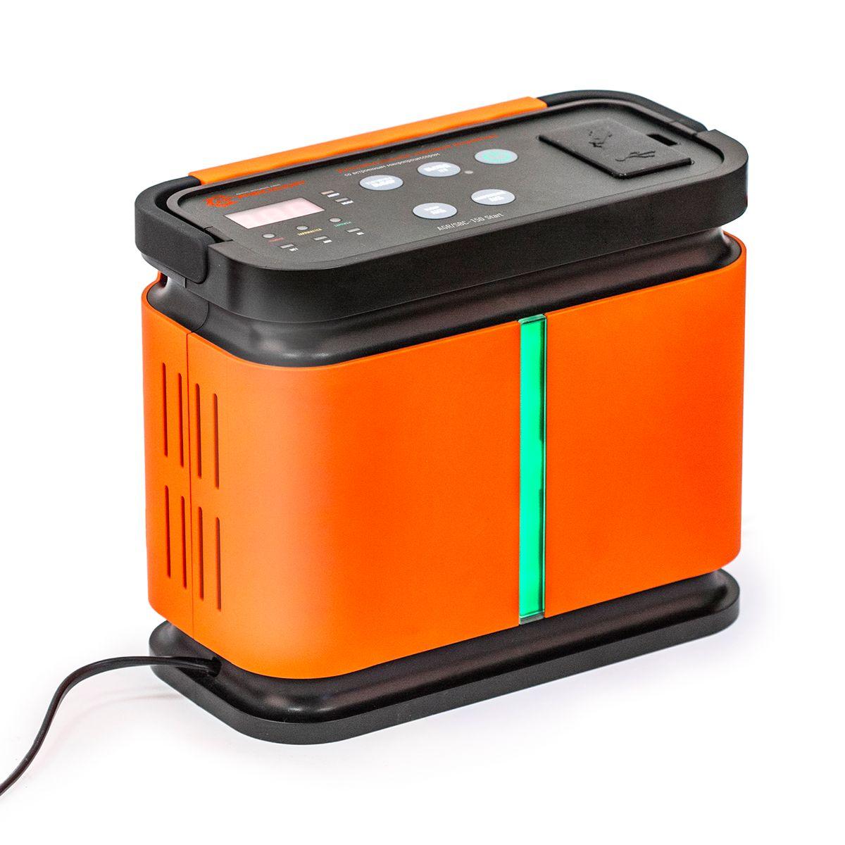 Устройство зарядное цифровое Autoprofi Агрессор AGR/SBC-150, 9 фаз зарядки, ток 2/6/10/15 АAGR/SBC-150Зарядное устройство Autoprofi Агрессор AGR/SBC-150 компактно и эргономично: все провода помещаются в специальных нишах, ручка складывается, размеры позволяют без труда разместить его в автомобиле или гараже. Устройство подходит для зарядки всех типов свинцово-кислотных батарей напряжением 12В. Кроме того, оно заряжает электронные устройства (смартфоны, телефоны, фотоаппараты, плееры и пр.) через встроенные USB-порт или сеть 12В. Устройство имеет усовершенствованную 9-ступенчатую систему зарядки и встроенный микропроцессор. Это, соответственно, сокращает время зарядки, обеспечивает безопасность и защиту от ошибок. Функция 5-минутной зарядки позволяет устройству быстро передать на батарею заряд, необходимый для запуска двигателя. Есть возможность выбрать оптимальную силу тока, установив один из четырех режимов: 2/6/10/15 А. Для оптимальной зарядки аккумуляторной батареи, в устройстве предусмотрена возможность установить тип АКБ: WET (жидкостный электролит), AGM...