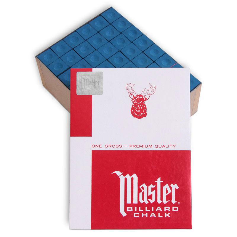 Мел для бильярда Tweeten Master Blue, 72 шт06116Мел Tweeten Master Blue обладает более твердым, чем у обычного мела, строением, отличаясь от него и по составу. Его рекомендуют плавно и равномерно наносить тонким слоем на кожаную наклейку. При ударах, смещенных относительно центра бильярдного шара, мел используется как надёжная защита от кикса.