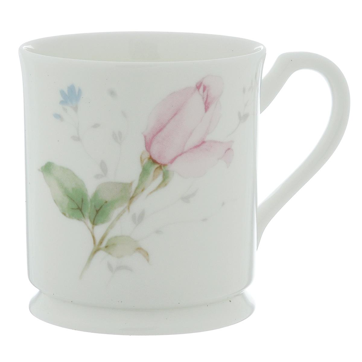 Кружка Narumi Апрельская роза, 220 мл9113-2530Кружка Narumi Апрельская роза, выполненная из высококачественного фарфора, декорирована изображением розы. Изделие оснащено удобной ручкой. Кружка сочетает в себе оригинальный дизайн и функциональность. Кружка Narumi Апрельская роза согреет вас долгими холодными вечерами. Не рекомендуется использовать в посудомоечной машине и микроволновой печи. Объем: 220 мл. Диаметр (по верхнему краю): 8 см. Высота кружки: 9 см.